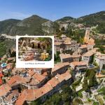 360度写真で体感! モナコ-ニース観光ルートの絶景 エズ村 Eze village(フランス ニース)
