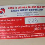 タンソンニャット国際空港(Tan Son Nhat International Airport)からのタクシー料金/ベトナム・ホーチミン(Ho Chi Minh, Vietnam)