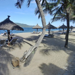 プライベートビーチは、どんな感じ? エバソン アナ マンダラ ニャチャン(Evason Ana Mandara Nha Trang)