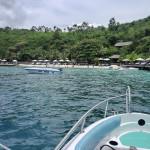 ニャチャンのシュノーケリングツアーで立ち寄ったMieu島Mini Beachでのランチ!リゾート気分満喫!