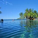 リゾート!深さ1.9mのインフィニティー プール(Infinity Pool)/エバソン アナ マンダラ ニャチャン(Evason Ana Mandara Nha Trang)
