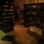 Wine Caveレストラン 1日一組・・・Dinig by the bayの近くのワインケーブ内で食事が楽しめるそうです。/シックス センシズ ニン ヴァン ベイ(Six Senses Ninh Van Bay)