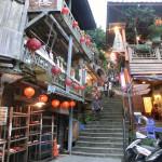 「千と千尋の神隠し」の路地/台湾 九份のGoogle ストリートビュー(台湾 九份)