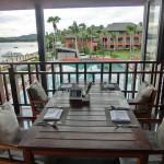 朝食バイキングは、1階と2階/ハンサー サムイ リゾート & スパ Hansar Samui Resort(タイ サムイ島)