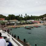 高速船カタマランの最上部に乗ってタオ島&ナンユアン島からサムイ島まで帰ってきました。