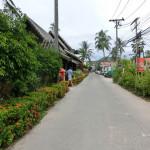 お昼のランチレストラン – クルア·ボプート/ Restaurant Krua Bophut (Fisherman's Village, Bophut, Koh Samui)
