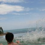 プライベートプールで大はしゃぎ/シラワディー プール スパ リゾート Silavadee Pool Spa Resort(サムイ島 北ラマイ)
