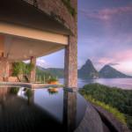 ジェード マウンテン リゾート Jade Mountain Resort (中米・カリブ セントルシア)
