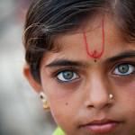インド人の瞳に惹かれた