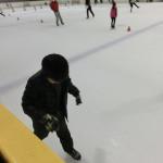 ペンギンズにあこがれて初めてのスケート