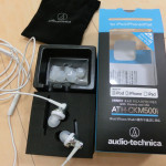 iPhone(アイフォン)用の高音質ヘッドフォン Audio-technica ATH-CKM500i